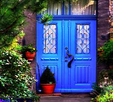 Blue Door 2 by Hans Kawitzki