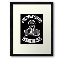 Sons of Lecter - Eat the rude Framed Print
