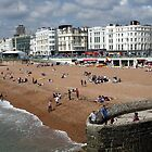Brighton beach by Roxy J