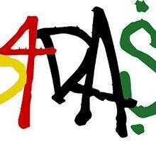 B4DA$$ Font  by drdv02