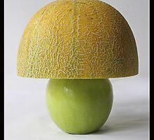 Organic Lamp by Dan Cretu