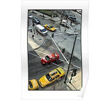Delaware & Rush Crosswalk Poster