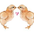 Baby Chick Love by mrana