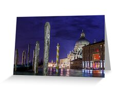 Grand Canal Venice Greeting Card