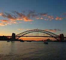 Wisps Of Day- Sydney Harbour, Sydney Australia by Philip Johnson