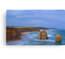 Separated By Time- The Great Ocean Road, Victoria Australia Canvas Print