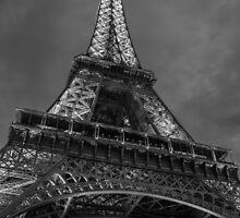 Eiffel Tower, Paris, France by eddytkirk