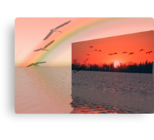 Wish I could fly! Canvas Print