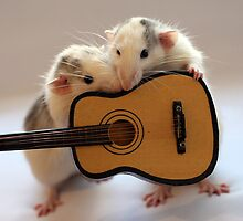 Singing together a little song :) by Ellen van Deelen