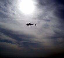 LAPD chopper by laurenpagni