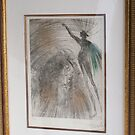 Salvador Dali's etching comes with a certificate of authenticity by murochka13