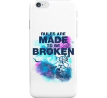 Rules Are Made to Be Broken - Jinx iPhone Case/Skin
