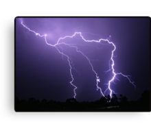 Hunter Valley Storm Canvas Print