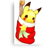 pikachu stocking Canvas Print