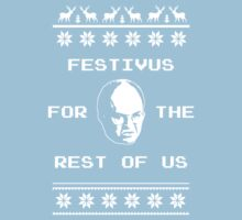 Festivus For The Rest of Us Ugly Holiday Sweater Kids Clothes