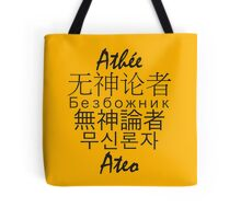 Multinational Atheist Tote Bag