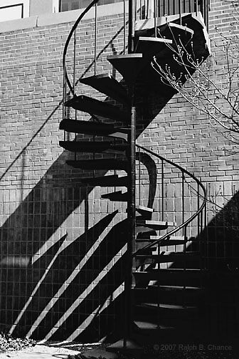 Spiral Staircase  by Ralph  Chance