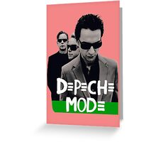 Depeche Mode : Playing the Angel - Let For Dead Greeting Card