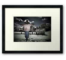 Scare the Crows Framed Print