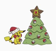 Holiday Pikachu Kids Clothes