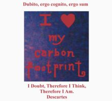 I LOVE MY CARBON FOOTPRINT! by Barbara Sparhawk