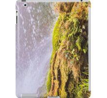 Under waterfall in the mountain iPad Case/Skin
