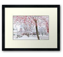 Dreaming of a White Christmas Framed Print