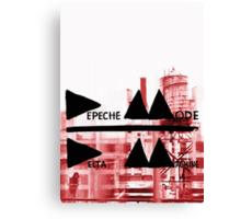 Depeche Mode : Delta Machine Paint cover Canvas Print