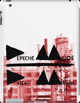 Depeche Mode : Delta Machine Paint cover by Luc Lambert