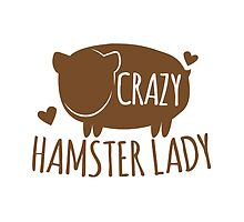 Crazy Hamster lady by jazzydevil
