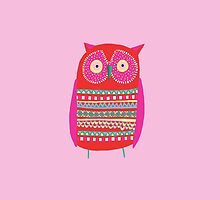 SMALL RED OWL  by Jane Newland