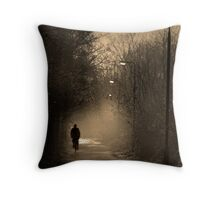 Take A Ride on The Dark Side Throw Pillow