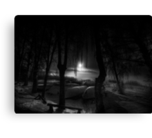 Night of the living dead fishermen Canvas Print