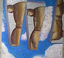 Men-R-Manequins 1 of 2 (diptych) by jaycee