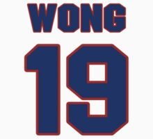 National Hockey player Mike Wong jersey 19 by imsport