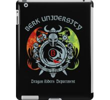 Berk University iPad Case/Skin