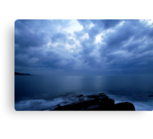 Calm before the storm..... Canvas Print