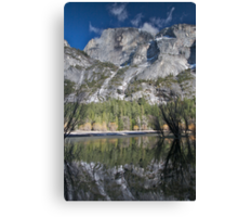 Half Dome over Mirror Lake - Yosemite National Park Canvas Print