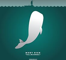 Literary Classics Illustration Series: Moby Dick by wata1989
