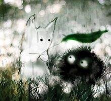 Ghibli Friends by Beejutsu :)