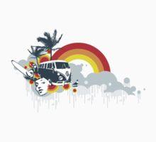 Dream Tour T-shirt by Michael Tomkinson