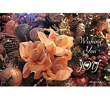 Elegant Decorations for Christmas Photographic Print