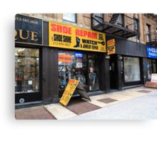 New York City Shop Canvas Print