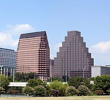 Downtown Austin, Texas Cityscape by Brandon Seidel
