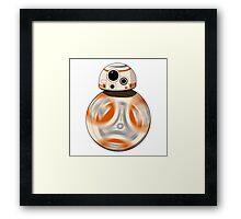 Star Wars: The Force Awakens  BB-8 Framed Print