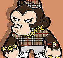 Chav Chimp by Phil Corbett