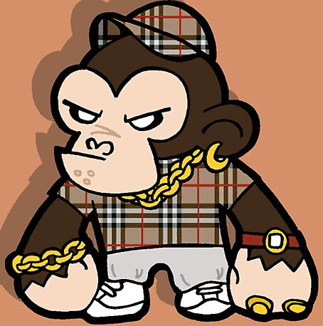 Chav Chimp by Phil Corbett