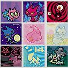 9 Cats by Phil Corbett