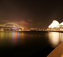 Summer Night at Circular Quay by Philip Wong