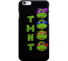 TMNT Paint Splater Grunge iPhone Case/Skin